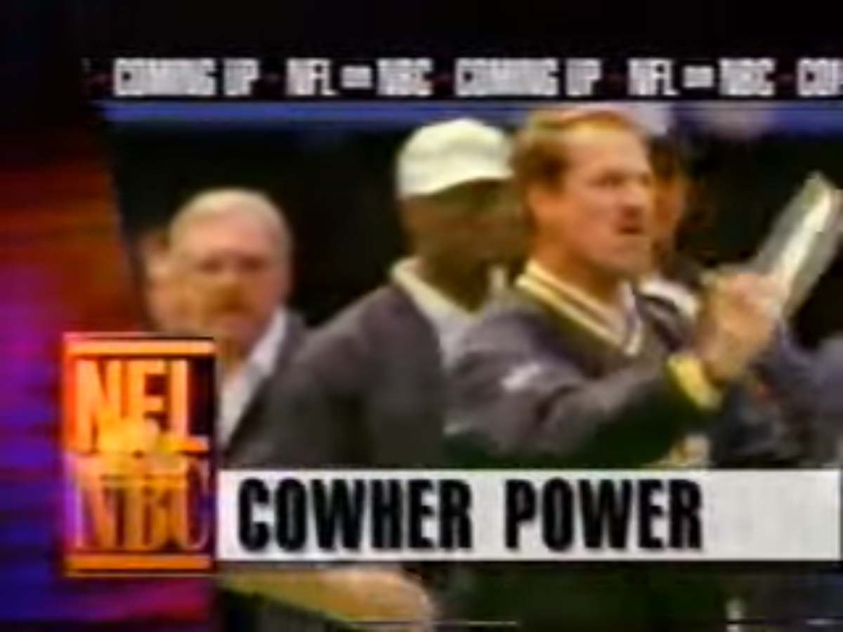 NBC Sports' NFL On NBC Pregame Show Video Bumper From Sunday Afternoon, October 1, 1995