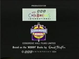 NODDY'S TOYLAND ADVENTURES 1994 END CARD