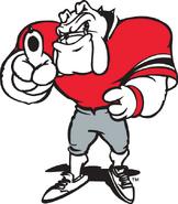 2857 georgia bulldogs-mascot-1997