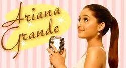 Ariana Grande Put Your Hearts Up era logo