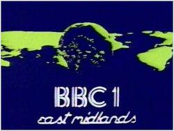 BBC 1 1983 East Midlands
