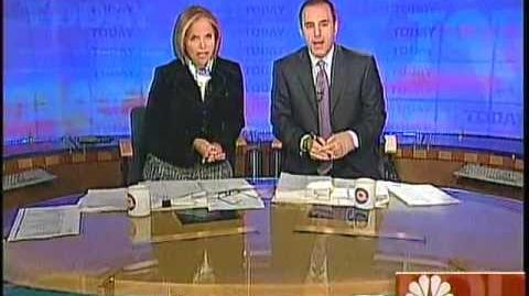 Today show open Jan 2006