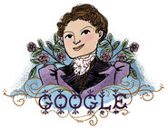 Google Henrietta Edwards' 165th Birthday (Version 2)