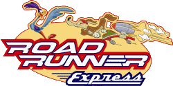 Road Runner Express Magic Mountain logo