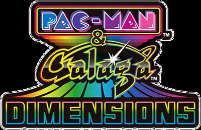 Pac man amp galaga dimensions logo by ringostarr39-d79v03w