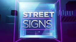 CNBC Street Signs Ident 2014