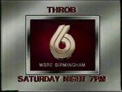 WBRC-TV 6 Throb 1986