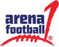 Arena Football 1 logo