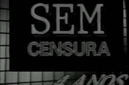 Sem Censura - 1989 logo 4 years