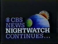 CBS Nightwatch 1982 A