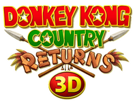 Donkey Kong Country Returns 3D EU logo