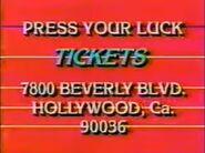 PYL Ticket Plug 1983 Alt 5