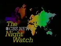 CBS Nightwatch 1985