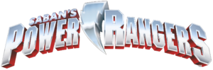 Power rangers logo saban 3