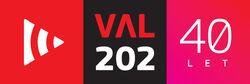 Val202 LOGO 40 let verzija1