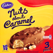 Cadbury's Nuts About Caramel - Ice Cream (Packaging)