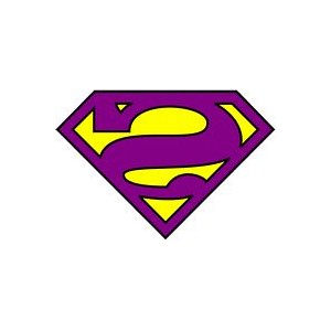 Superman Bizarro logo