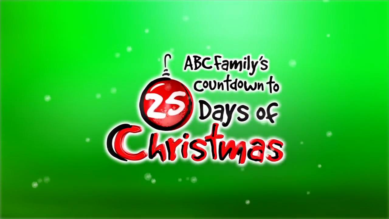 Countdown to Freeform's 25 Days of Christmas | Logopedia | FANDOM ...