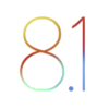 IOS 8.1 logo (improved)