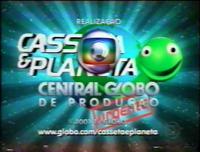 Casseta & Planeta Urgente! seal Globo 2005-2008 logo 2007 release date April 10 2007