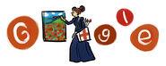 Google Nadežda Petrović's 142nd Birthday (Version 2)