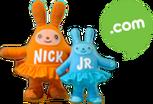 Nick Jr. Dot Com Plush Bunnies