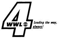 9-23-1968 Modern WWL-TV logo