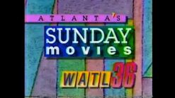 WATL 36 Atlanta's Sunday Movie Bumper from 1989