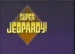 Super Jeopardy promo ad