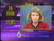 WBRC-TV Channel 6 News Weekend with Terri Denard 1991