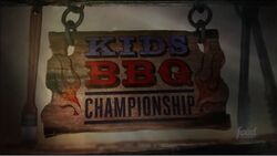 Kids BBQ Championship Intertitle