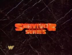 WWF Survivor-Series-1987 logo