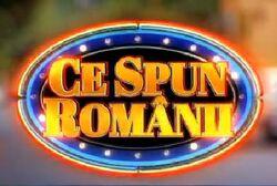 Ce Spun Romanii ad