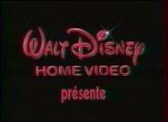 Walt Disney Home Video Presents 1986 French Logo