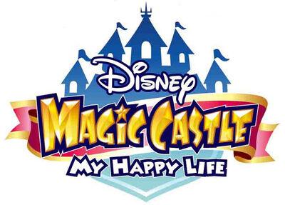 Disney magic castle my happy life logo