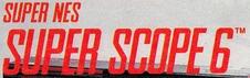 Super NES Super Scope 6 logo