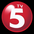 TV5 3D Version Logo 2014