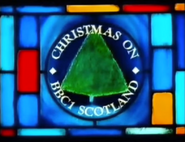 BBC One Scotland Christmas 1987 ident
