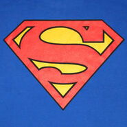 Superman Logo Royal Shirt