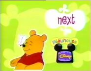 The Adventures of Winnie the Pooh - Playhouse Disney Bumper - 2000 to 2002 - Logo