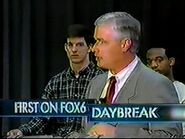 WBRC's FOX 6 News Daybreak video opening from February 16th, 2001