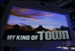 My Kind of Town Video Screen