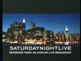 Saturday Night Live Video Open From September 29, 2001