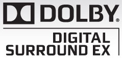 DOLBY DigitalSurroundEX