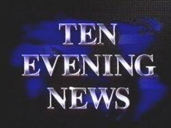 Ten Evening News 1990