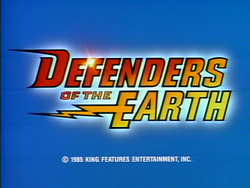 Defenders title card
