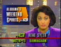 WVTM-TV TV-13 Alabama's Weekend News with Rene Syler