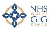 NHS logo in Wales