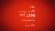 BBC One London Marathon Coming up Next bumper