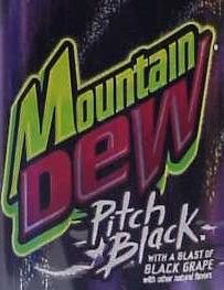 Mountain Dew Pitch Black logo